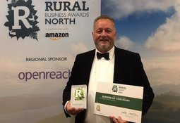 Salmon farmer named Rural Business Awards runner-up