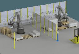 Tecsur invita a demostraciones  de robot de paletizado