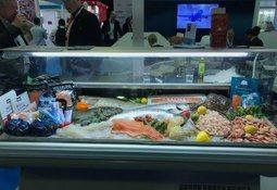 Fristende sjømat fra Norge tiltrakk seg mange besøkende på Seafex Dubai
