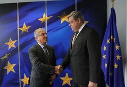 Nesvik møtte EUs fiskerikommissær