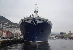 Bli med om bord i «Norwegian Gannet»