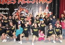 Nova Austral organizó nacional inclusivo de Cheerleaders en Porvenir