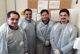 Investigador capacitó a Sernapesca Magallanes para detectar Tenacibaculosis