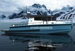 Leverer ny patruljebåt til Sysselmannen på Svalbard.