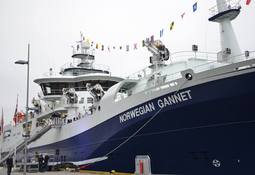 Norway welcomes world's largest slaughter boat