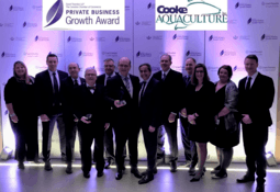 Cooke Aquaculture wins Private Business Growth Award
