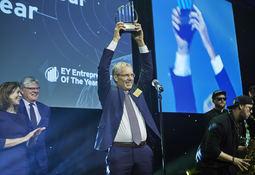 Per Grieg jr. ble Entrepreneur Of The Year 2018