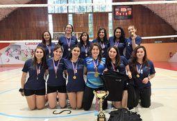 Cermaq y Skretting: campeones del Campeonato de Vóleibol Inter-Empresas
