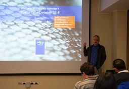 En Chile: Investigador de BioMar expone sobre melanosis en el salmón
