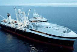 Røkkes krillskip døpt i Ålesund