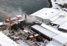 Production restarted at blaze-tragedy smolt plant