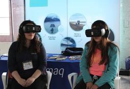 Salmonicultores de Magallanes muestran su actividad con realidad virtual