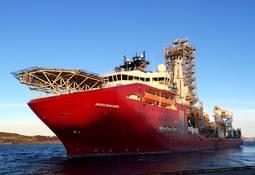 «Akofs Seafarer» på prøvetur