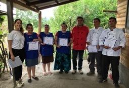Salmones Camanchaca participó en Fiesta de la Trucha de Trupán
