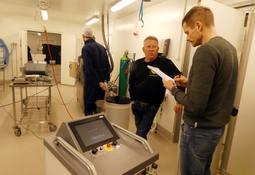 Fjerner listeria med H2O2-produserende roboter