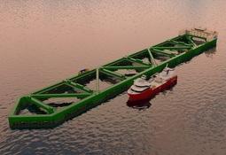 Avanza la construcción de megaproyecto salmonicultor Havfarm 1
