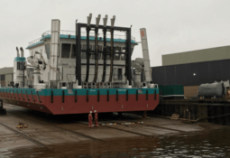 New Cermaq delousing vessel launched at shipyard