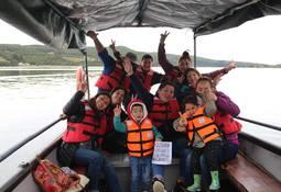 Los Fiordos organizó visita a Humedal Huildad
