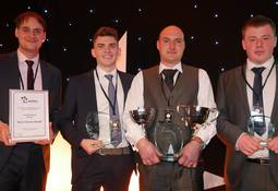 Triple success for salmon farmer at awards ceremony