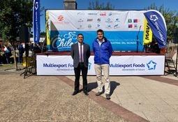 Salmonicultoras apoyaron vuelta ciclística a Chiloé