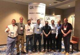Delegación de Salmofood en conferencia Aquaculture 2019