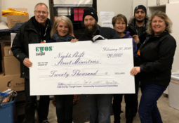 Cargill gives back to a local community in need