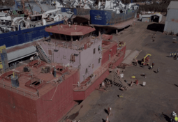 Cermaq adds gyms to new feed barges