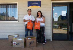 Araucanía: SalmonChile entrega ayuda para animales afectados por incendios
