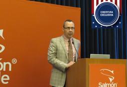 James Griffin detalla campaña del salmón chileno en EE.UU.