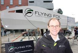 Brdr. Aa gjør det igjen: Vil lage flyvende skip!