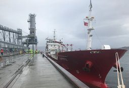 Oil's well for Mowi as first tanker delivers to feed plant