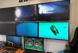 AKVA group opera nuevo robot para limpieza de redes