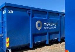Ny avdeling for mottak av notposer i Austevoll