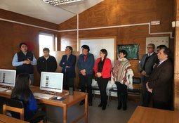 Sealand contribuye con fibra óptica para escuela rural