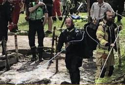 Tauferje kantret. 19 reddet opp av vannet.