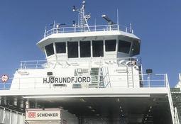 Ukens Skipsbesøk MF «Hjørundfjord»