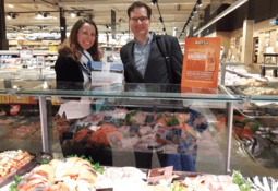 French retailer begins sales of algal oil-fed salmon
