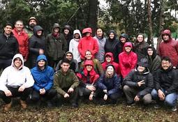 Estudiantes norteamericanos visitan centro genético Catripulli