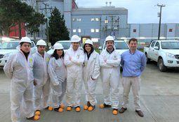 Ejecutivos salmonicultores visitan planta de Salmofood