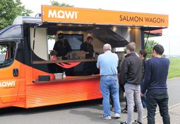 Salmon Wagon is the perfect publicity vehicle for Mowi