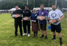 Heavies' record broken at salmon-sponsored games