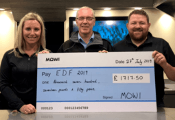 Mowi's Salmon Wagon raises £1,700 on public debut