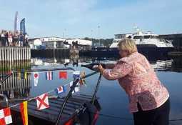 Verdens raskeste el-båt døpes