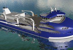 Verdens største brønnbåt på veg