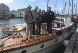 Ukens Skipsbesøk: Med «Faun» til Haugesund