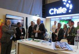 ProChile inaugura stand en Aqua Nor junto a emprendedores acuícolas