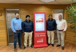 Consorcio Acuícola de Perú se reúne con Salmofood
