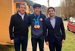 AquaChile destaca a único aysenino en obtener medallas en panamericanos