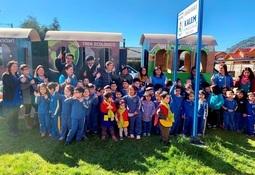 AquaChile apoya lanzamiento de tren ecológico en Puerto Aysén