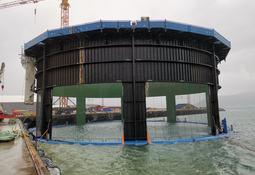 Nå er Aquatraz-merd nummer tre sjøsatt